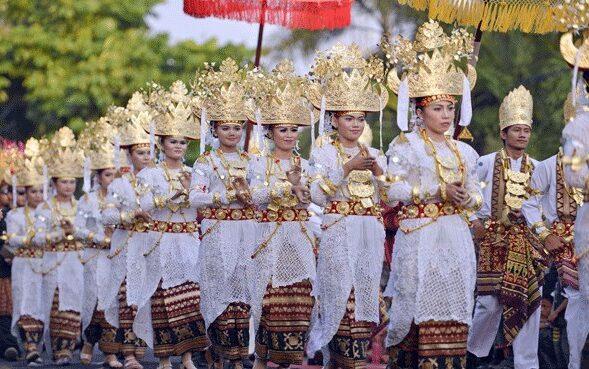 upacara adat Lampung
