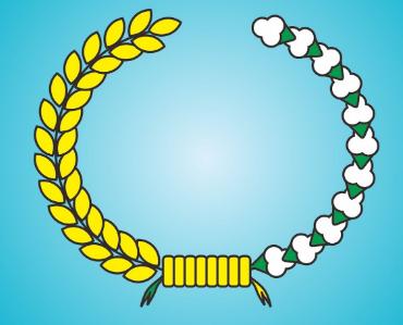 simbol padi dan kapas pancasila
