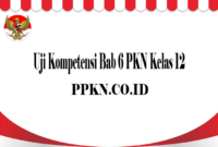 Uji Kompetensi Bab 6 PKN Kelas 12