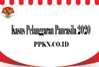 Kasus Pelanggaran Pancasila 2020