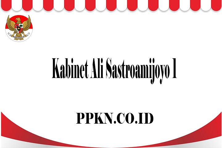 Kabinet Ali Sastroamijoyo 1