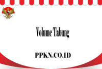Volume Tabung