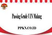 Passing Grade UIN Malang