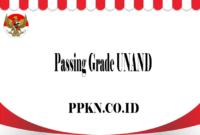 Passing Grade UNAND
