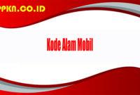 Kode Alam Mobil
