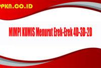 MIMPI KUMIS Menurut Erek-Erek 4D-3D-2D
